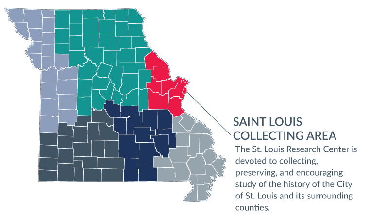 Saint Louis collecting area