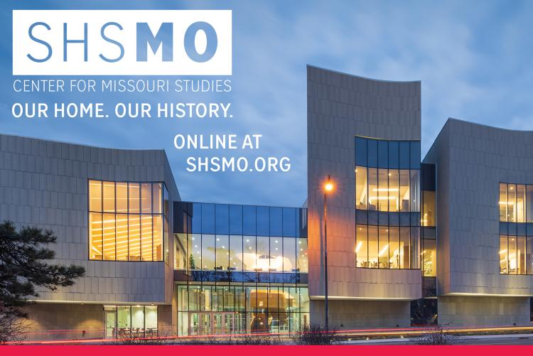 SHSMO Our Home. Our History. Online at SHSMO.org