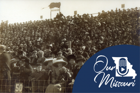 Missouri-Kansas Football Spectators, 1911