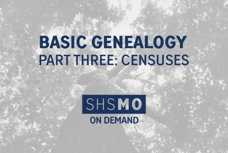 Basic Genealogy, Part Three: Censuses