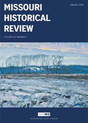 Missouri Historical Review January 2020 cover.