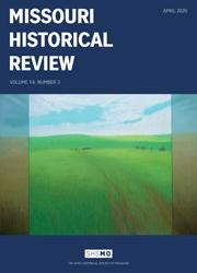Missouri Historical Review April 2020 cover
