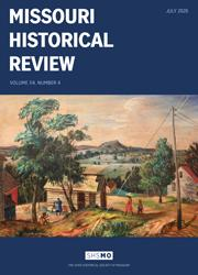 Missouri Historical Review July 2020 cover