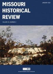 Missouri Historical Review January 2021 cover