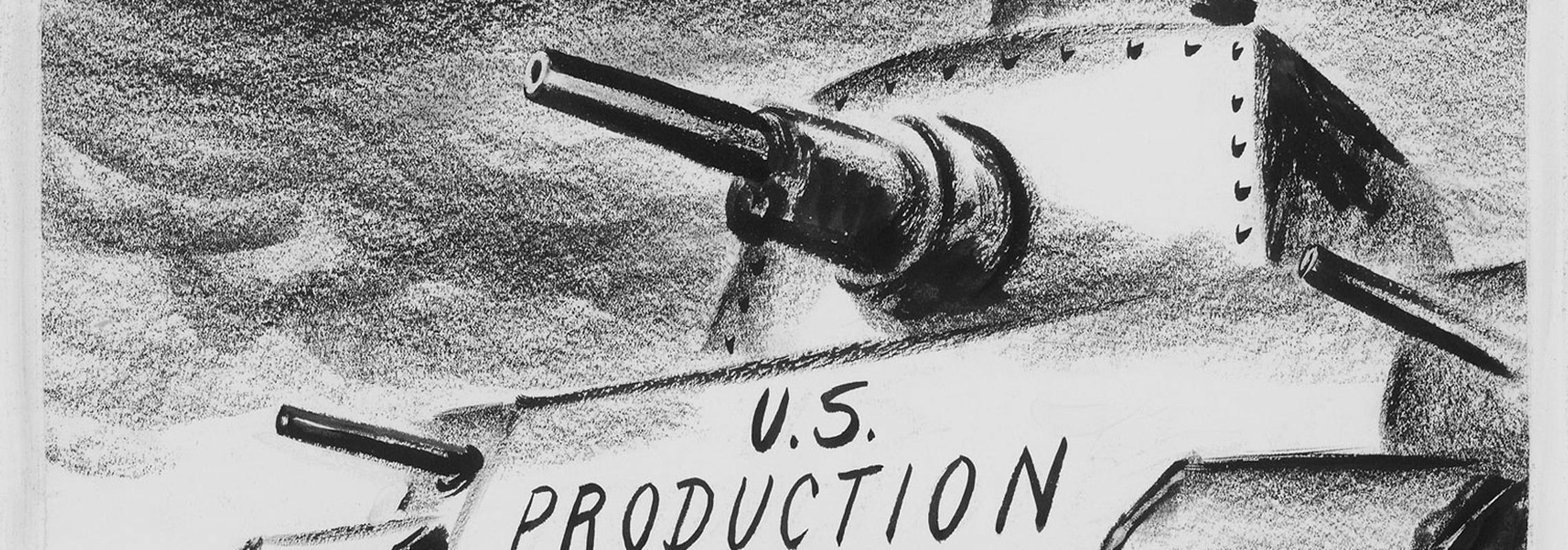 "Tanks labeled ""U.S. Production"""