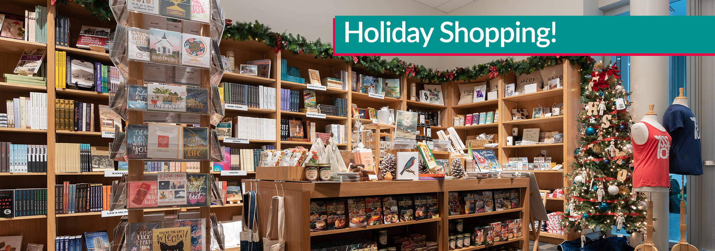 "SHSMO Bookstore ""Holiday Shopping"""