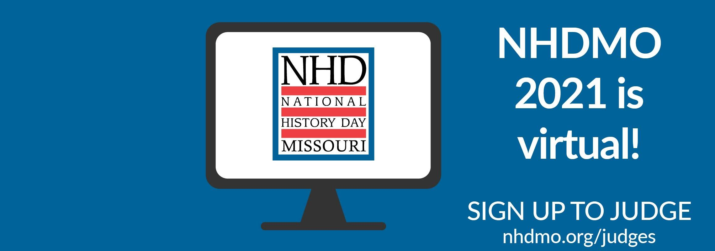 NHDMO 2021 is virtual! Sign up to judge