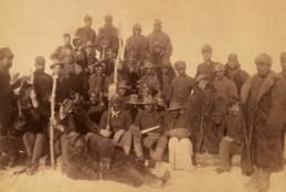 25th Infantry Regiment of Buffalo Soldiers at Fort Keogh, Montana, 1890