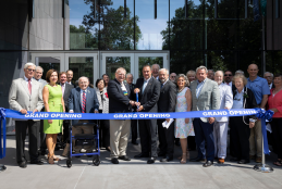 Center Ribbon Cutting