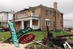 Jefferson City tornado storm damage