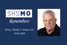 SHSMO remembers Hank Waters 1930-2020