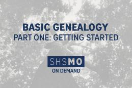 Beginning Genealogy, Part One: Getting Started