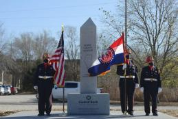 Tri-county monument dedication